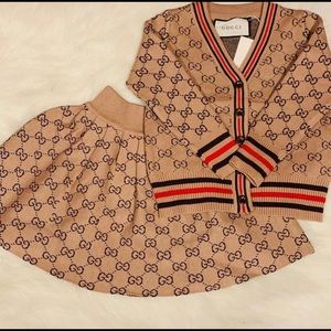 Other - Kids Gucci skirt-suit